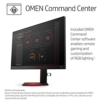 OMEN by HP Obelisk Gaming Desktop Computer, AMD Ryzen 7 2700 Processor,  NVIDIA GeForce GTX 1070 8 GB, HyperX 16 GB RAM, 1 TB hard drive, 256 GB  SSD,