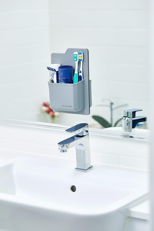 Amazon.com: Silicone Toiletry Organizer - Waterproof Toothbrush ...