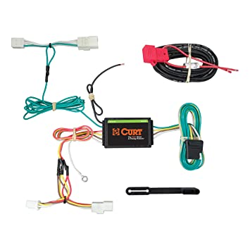 curt 56259 vehicle side custom 4 pin trailer wiring harness for select subaru wrx Subaru Alternator Wiring
