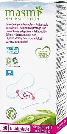 30 x masmi adaptable Flexi Panties algodón orgánico (para Slip ...