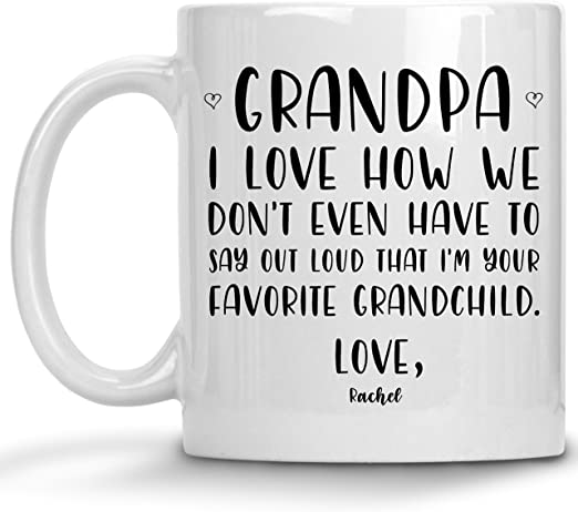 Personalised Grandfather Gifts Birthday Name A Star Box Set Grandad Papa Him