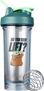 BlenderBottle Star Wars Pro Series Shaker Bottle Stocking Stuffer, 28-Ounce, Do You Even Lift?