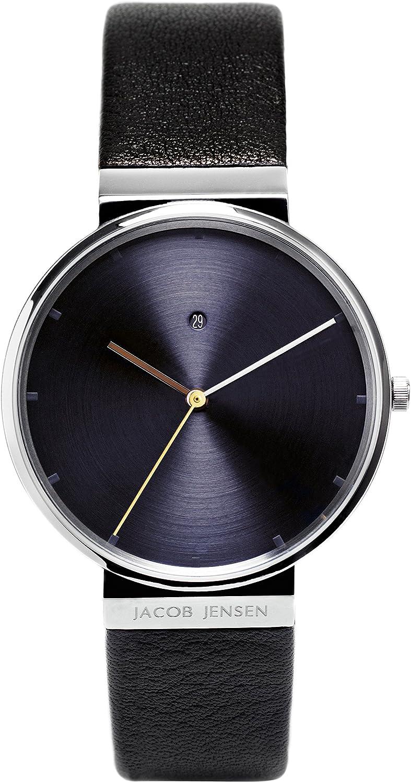 Jacob Jensen 'Dimension' Japanese Quartz Movement Analog Dial Watch