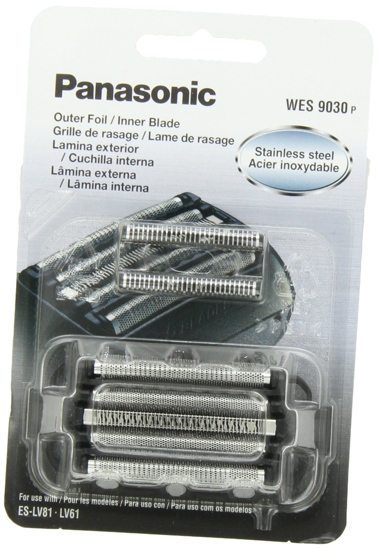 Panasonic WES9030P Men's Electric Razor Replacement Inner Blade & Outer Foil Set