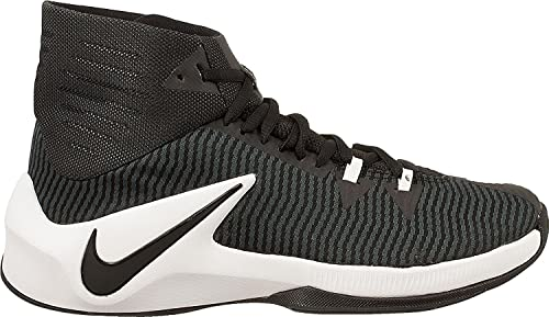 Zapatillas de baloncesto Nike Mens Zoom Clear Out TB, negras ...