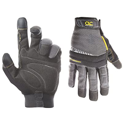 Custom Leathercraft 125M Handyman Flex Grip Work Gloves