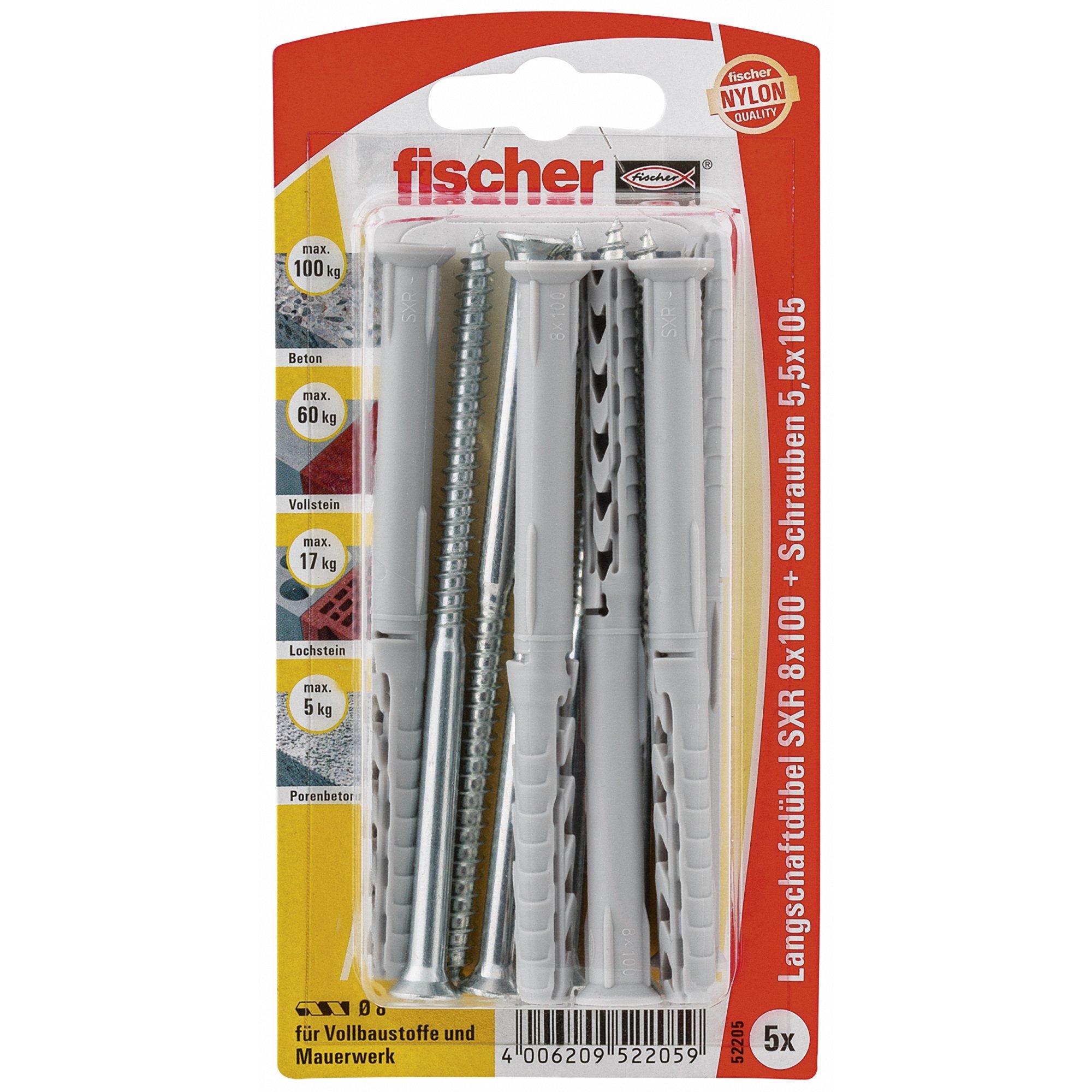 Fischer 52205 8 x 100 mm SXR Z K Frame Fixing