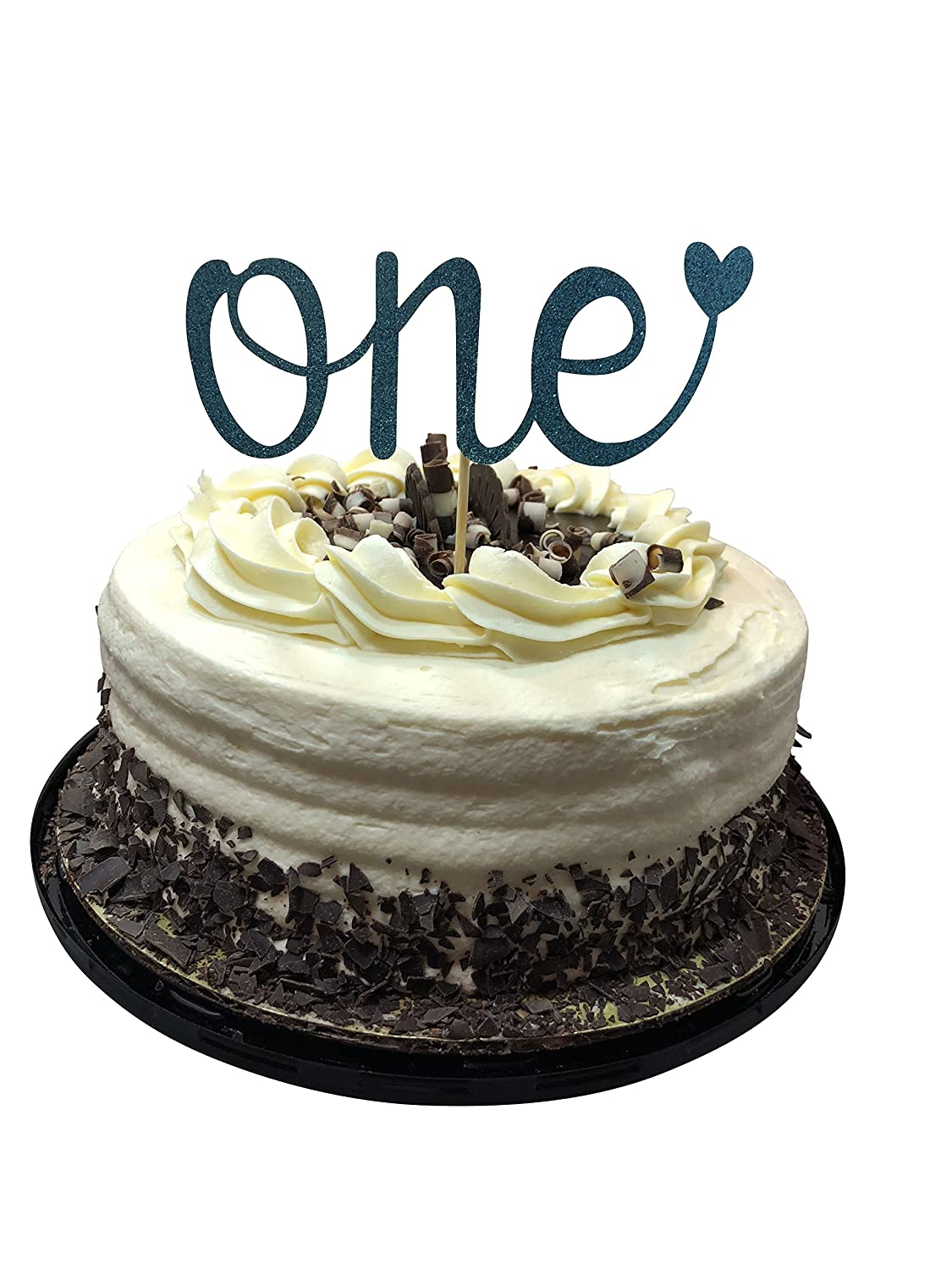 Swell One First Birthday Cake Topper Happy 1St Smash Party Decorations Funny Birthday Cards Online Hetedamsfinfo