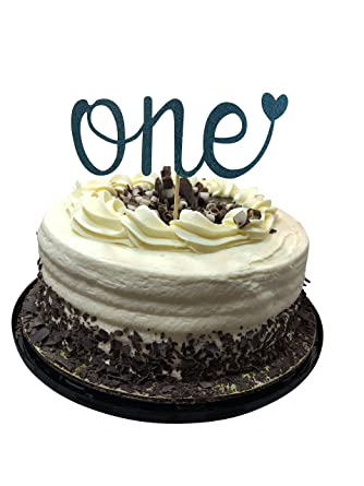 Incredible One First Birthday Cake Topper Happy 1St Smash Party Decorations Funny Birthday Cards Online Overcheapnameinfo
