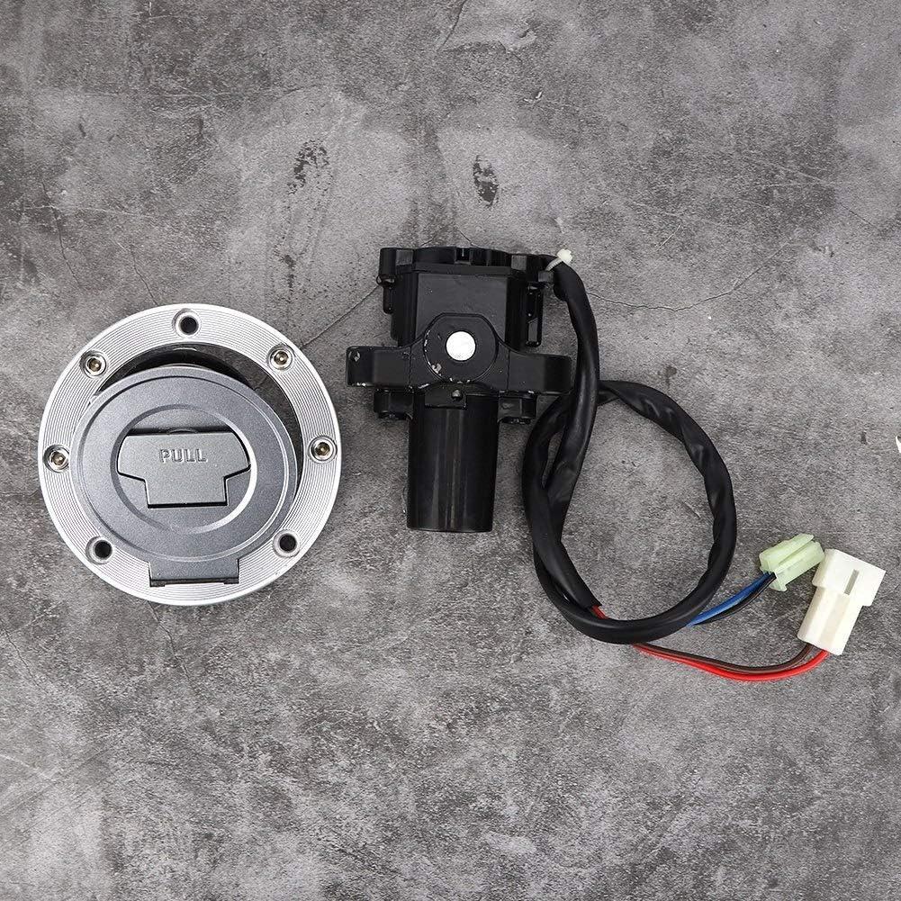 FZ6R YZF R1 Dingln Commutateur Dallumage Gaz Carburant Cap Seat Key Lock Set for Y-a-m-a-h-a YZF R6 FZ09 FZ6