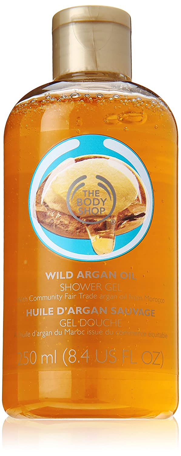 The Body Shop Shower Gel, Wild Argan Oil: