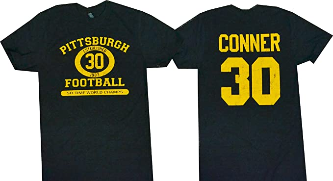 the latest 17747 63bae Amazon.com: James Conner Pittsburgh Football T-Shirt Soft ...