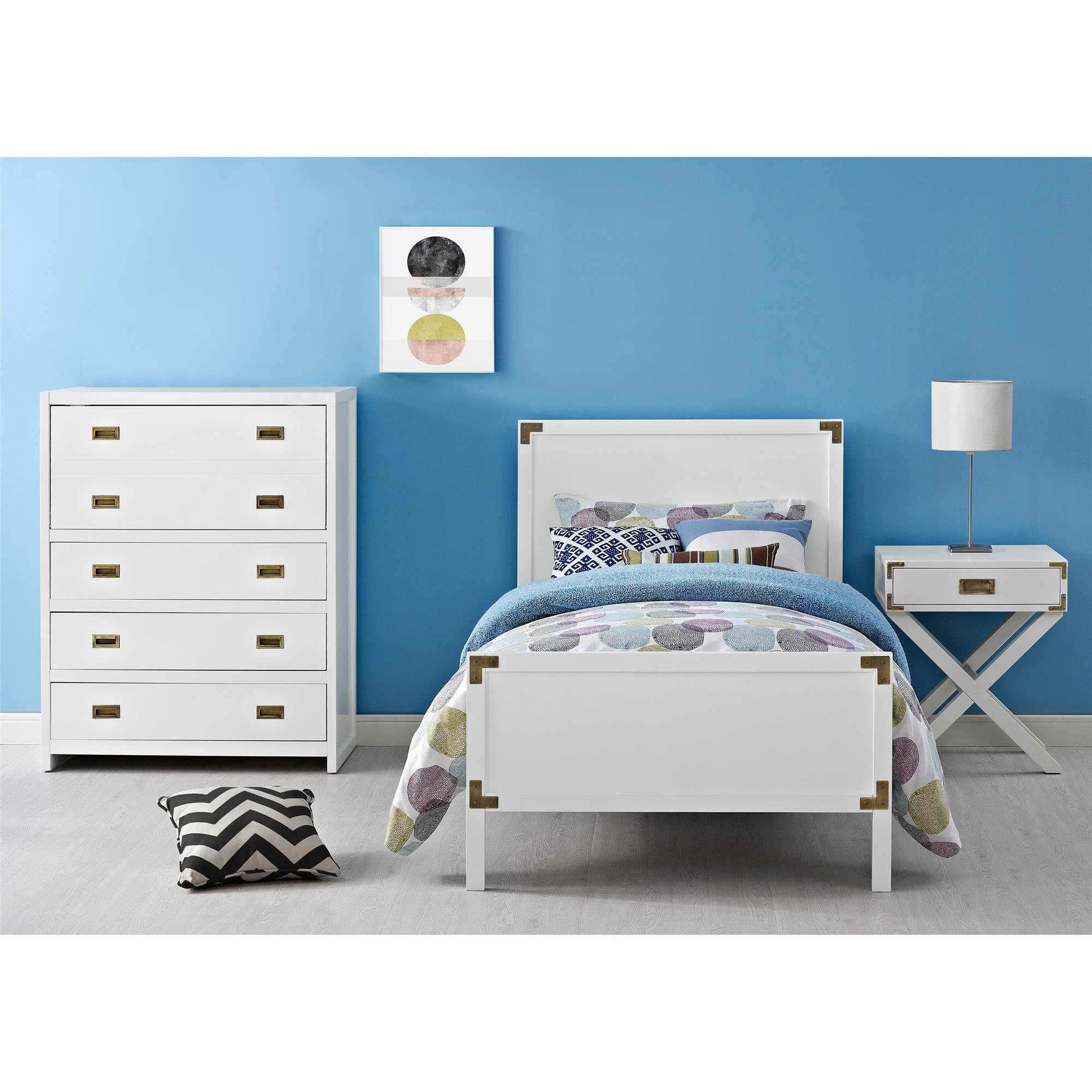 Baby Relax Miles Nightstand, White by Baby Relax (Image #8)