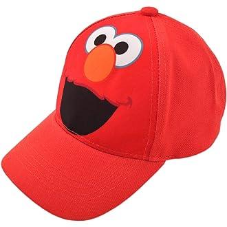 54942627212  2 Sesame Street Toddler Boys Elmo Character Cotton Baseball Cap