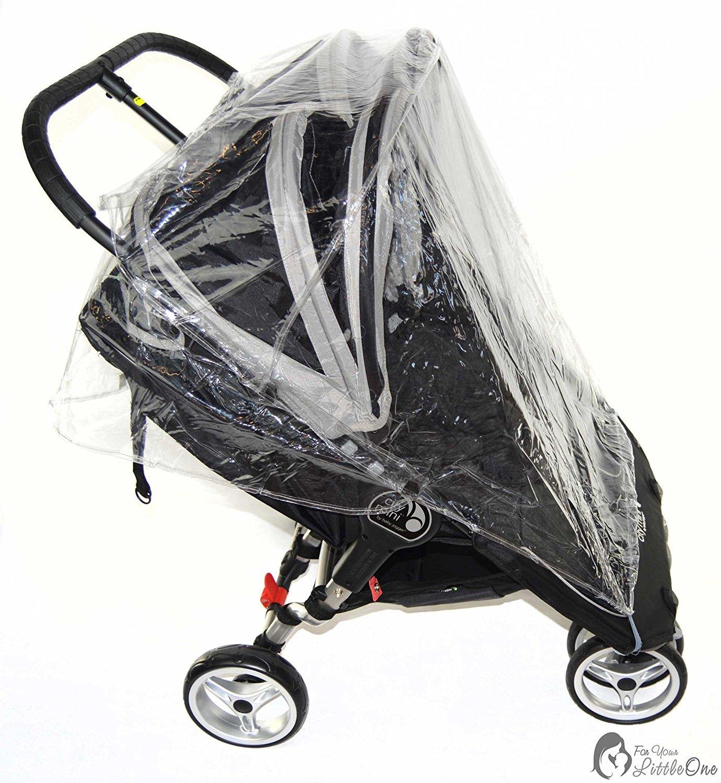 /Carrito doble Protector de lluvia Compatible con Red Kite Push Me Twini Jogger Twin/ 213