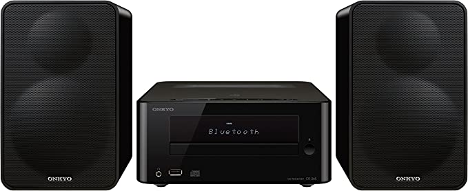 Onkyo CS-265-B - Sistema mini (Bluetooth, NFC, USB frontal) color ...