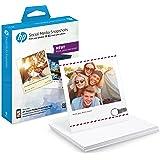 HP W2G60A Carta Fotografica Adesiva Rimovibile, 10x13, Bianco
