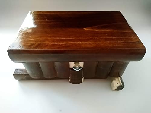Nueva caja del rompecabezas de madera grande de color sencillo ...