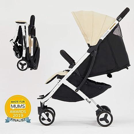 Allis® Ligero cochecito de bebé, Beige: Amazon.es: Bebé