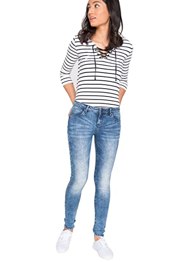 57527777ad93 Amazon.com: Ardene - Women's - Skinny Jeans - Skinny Denim Jeans 5  -(8A-AP00087): Shoes