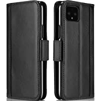 ProCase Pixel 4 Genuine Leather Case, Vintage Wallet Case Folding Flip Cover with Card Holders Kickstand Protective for…