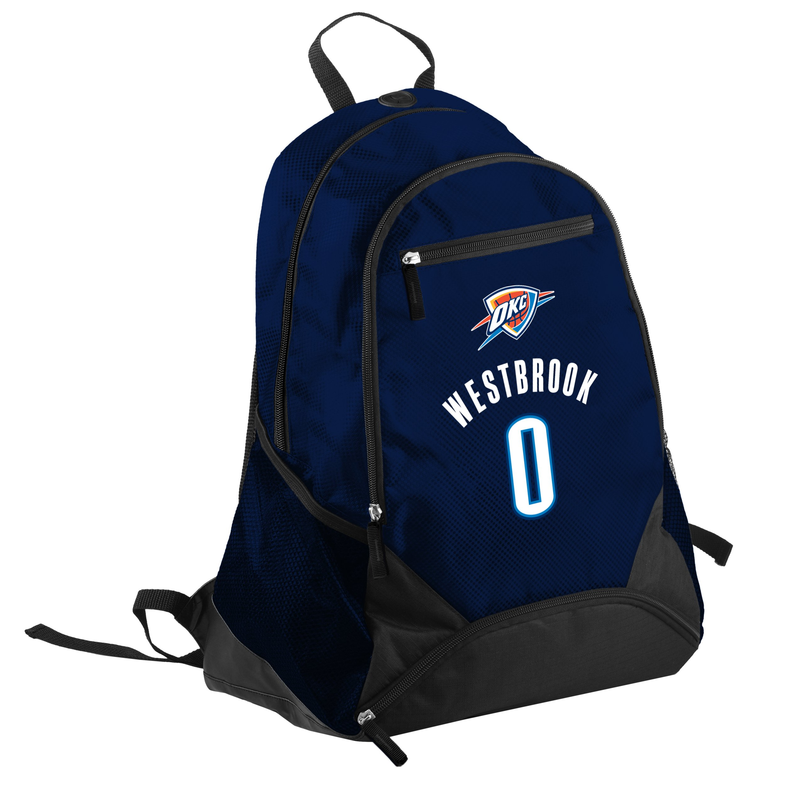 FOCO Oklahoma City Thunder Russell Westbrook #0 Franchise Backpack
