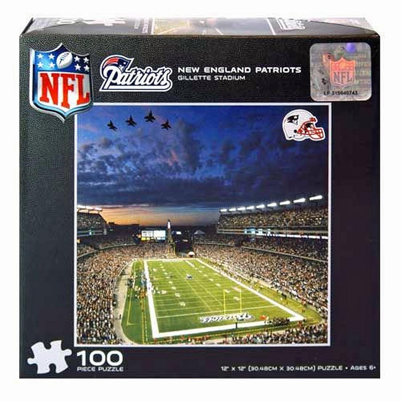NFL New England Patriots Gillette Stadium 100-Piece Puzzle