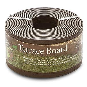 "Master Mark Pl Prod 94320 Terrace Board Landscape EDG Ing 4"" X 20 ' Brown"