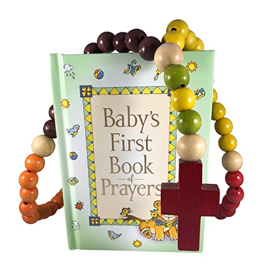 Baby Catholic Baptism Gift Set