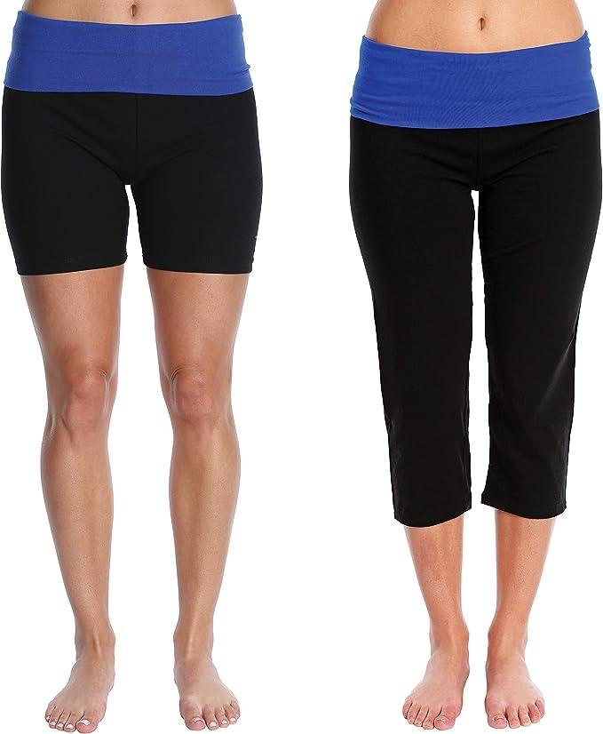 Amazon.com: Blis Nouveau - Pantalones capri de yoga para ...