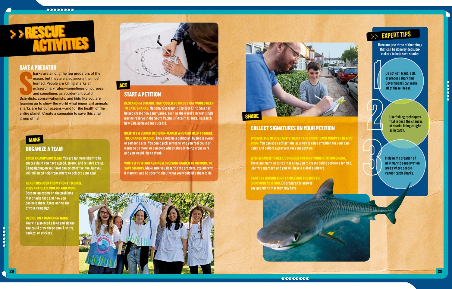 National Geographic Kids Mission: Shark Rescue: All About Sharks and How to Save Them (NG Kids Mission: Animal Rescue) by National Geographic Children's Books (Image #4)
