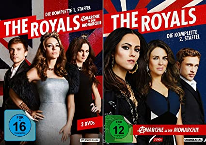 The Royals - Staffel 1+2 [DVD Set]