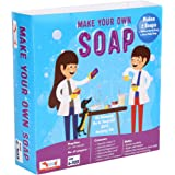CocoMoco Kids Soap Making Kit DIY Science Activity Kit for Kids, DIY Activity Kit Return Gift for 6-12 Years, 12-14 Years Boys and Girls, Multicolor (Soap Making Kit)