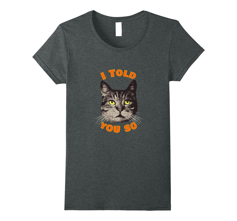 Funny Judgmental Cat T-Shirt