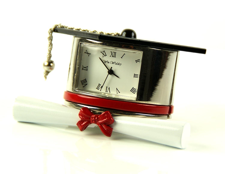Collectable Small Clock Miniature Novelty Clocks Yellow Jet Ski Design