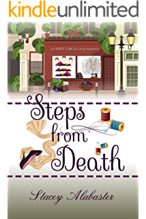 Steps From Death Craft Circle Cozy Mysteries Book 1