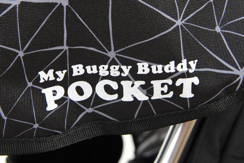 Meine Buggy Buddy Tasche Schwarz mit grau Details