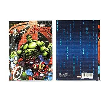 268414 Agenda 10 meses para el colegio The Avengers MARVEL ...