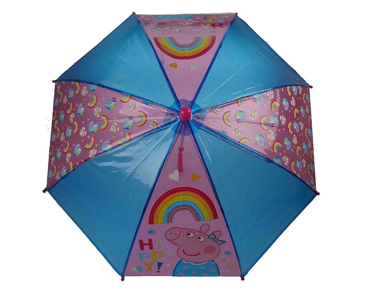 Peppa Pig Paragua clásico, Azul (Rosa) - PEPPA005124-715: Amazon.es: Equipaje