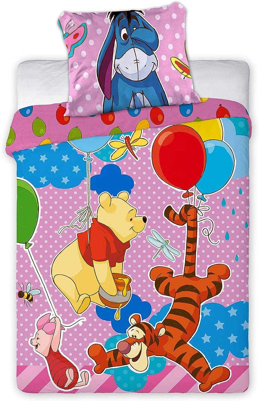 100 X 135 Cm Disney 2 Tlg Biancheria Da Letto Per Bambini Motivo Winnie The Pooh 056 Biancheria Per La Cameretta Set Di Biancheria Da Letto