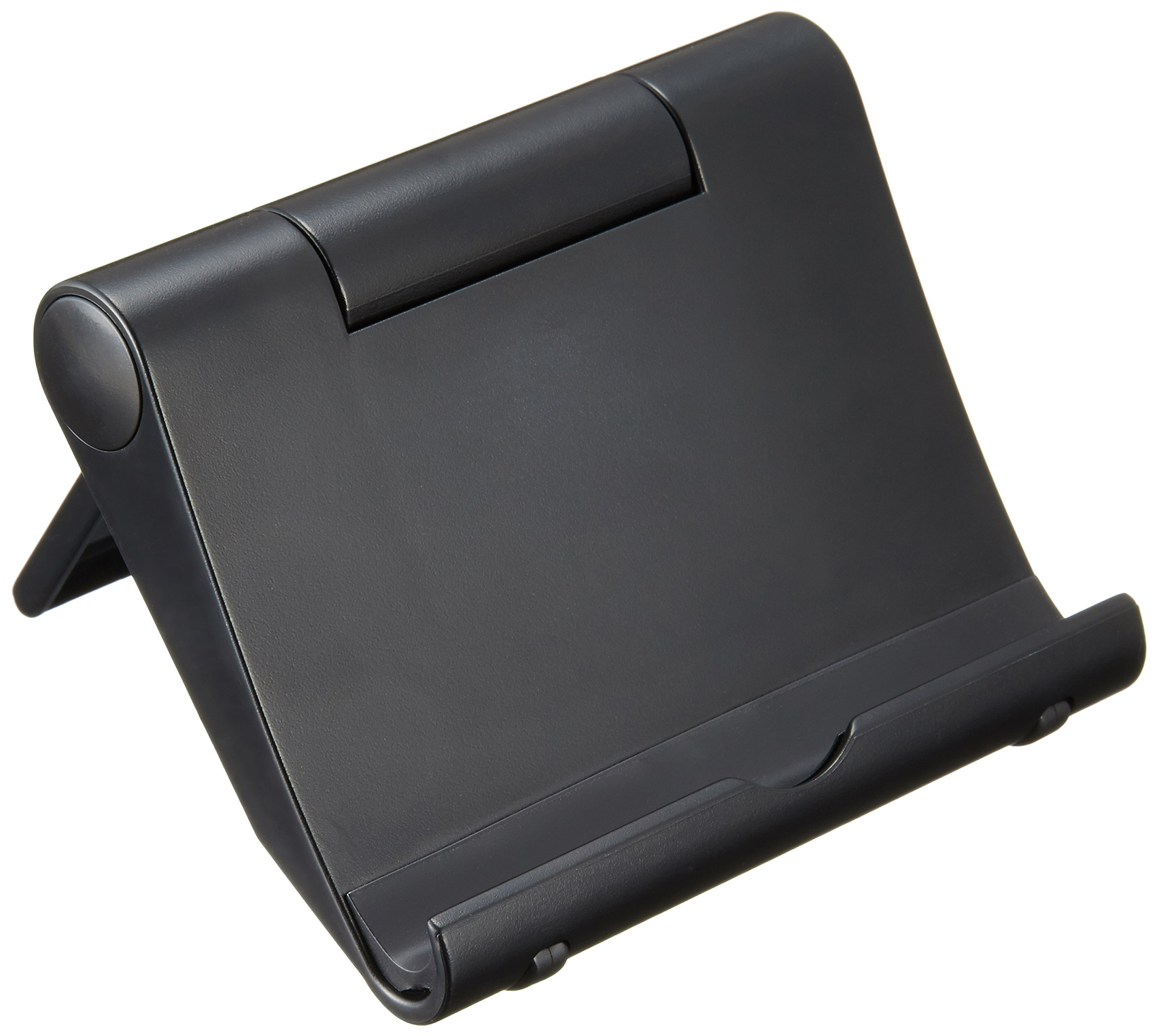 【Amazon認定】タブレット/スマホ スタンド 角度調整可能 NuPro プラスティック ブラック Kindle, iPad, iPad mini, iPhone, Nexus 7等