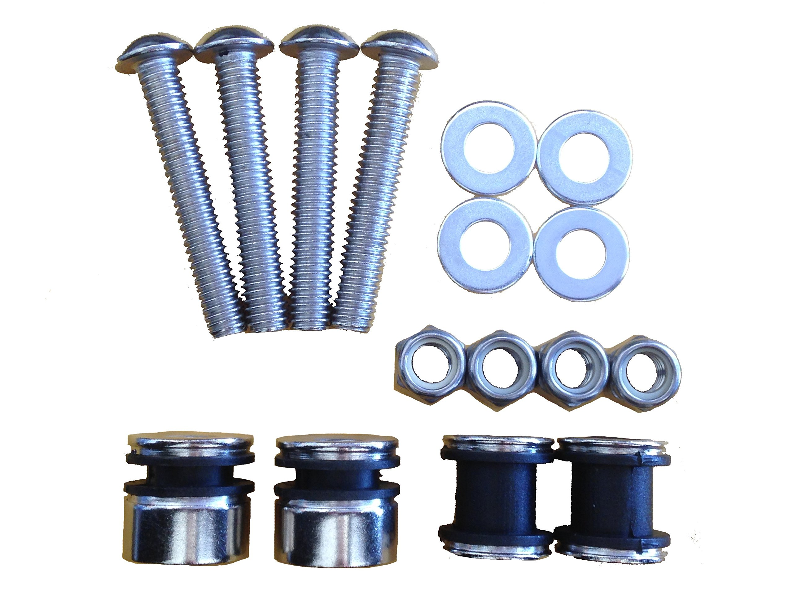 4-Point Docking Hardware Kit for 1984-1999 Harley Davidson Softail Detachable Accessories