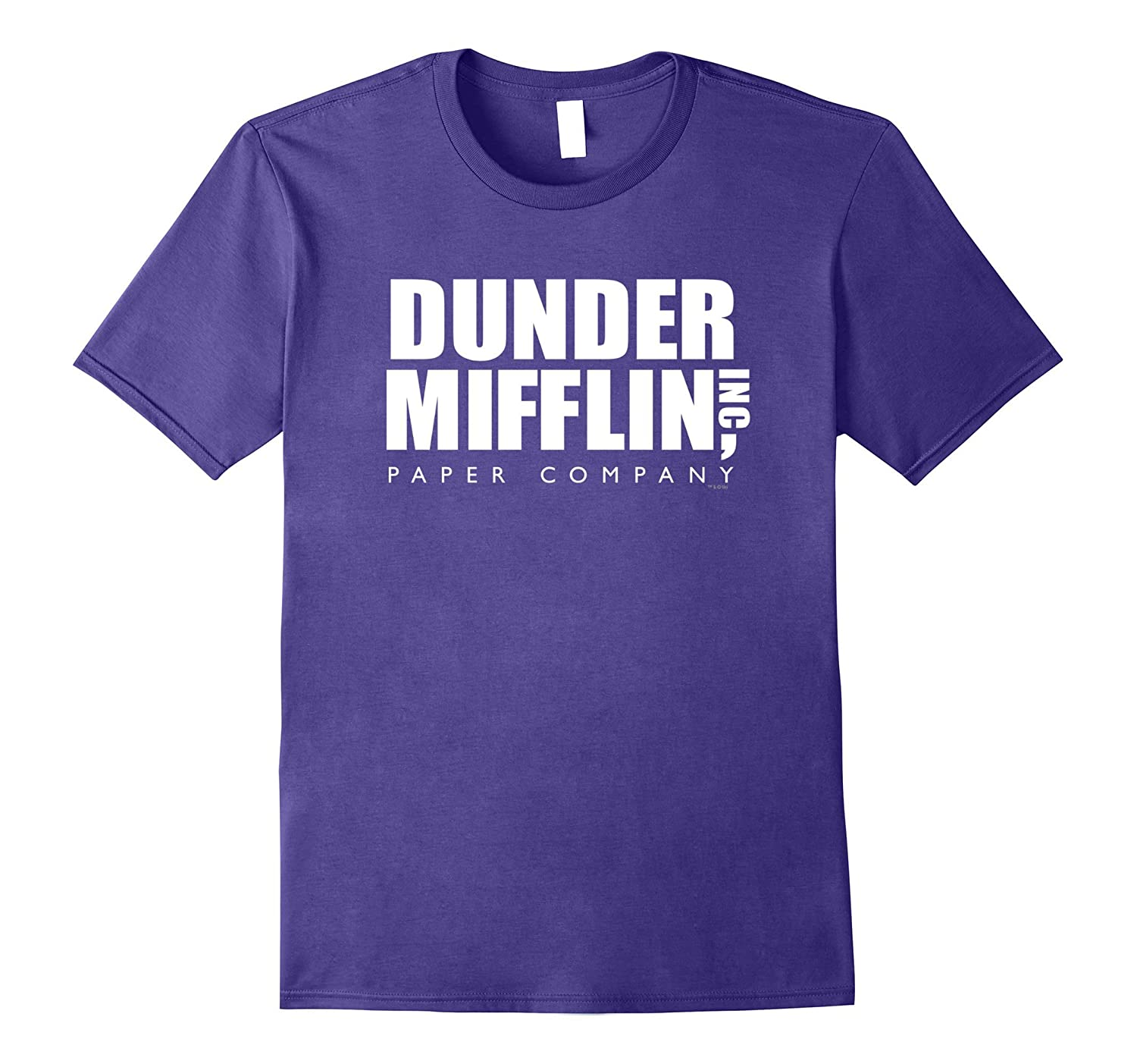 333407aaedca2 The Office Dunder Mifflin Comfortable T-Shirt - Official Tee-alottee gift -  Alottee