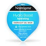 Neutrogena Hydro Boost Moisturizing Overnight Gel Cream Face Mask with Hyaluronic Acid, 0.3 Fl. Oz (Pack of 12)