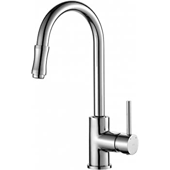 Kraus Kpf 1622ch Single Lever Pull Down Kitchen Faucet