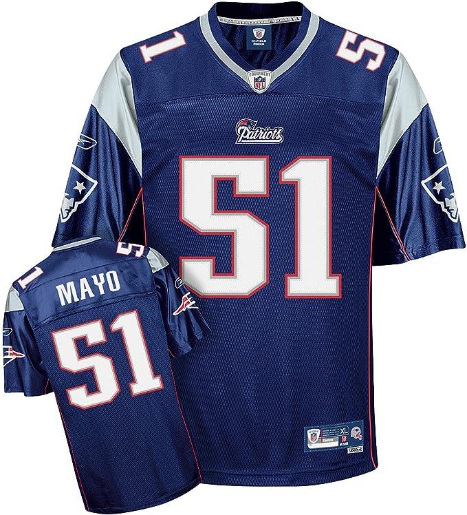 Reebok New England Patriots Jerod Mayo Premier Jersey