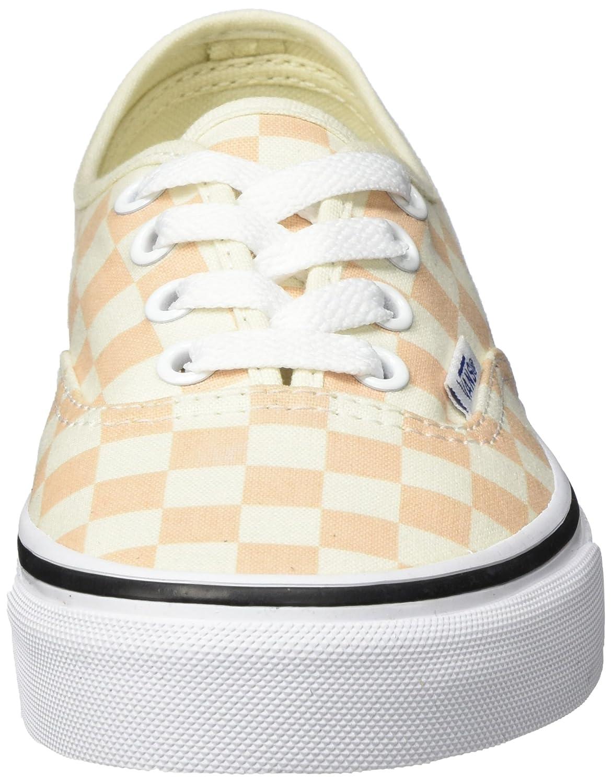 Vans Damen Authentic Einheitsgröße Sneakers, schwarz/Macaroons, Einheitsgröße Authentic Orange (Checkerboard) c4a2c7