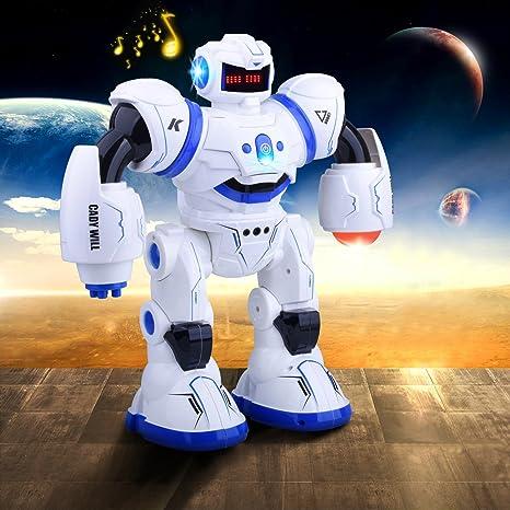 Kuman Robot de Juguete de Regalo a Control Remoto (Robot de RC): Amazon.es: Juguetes y juegos