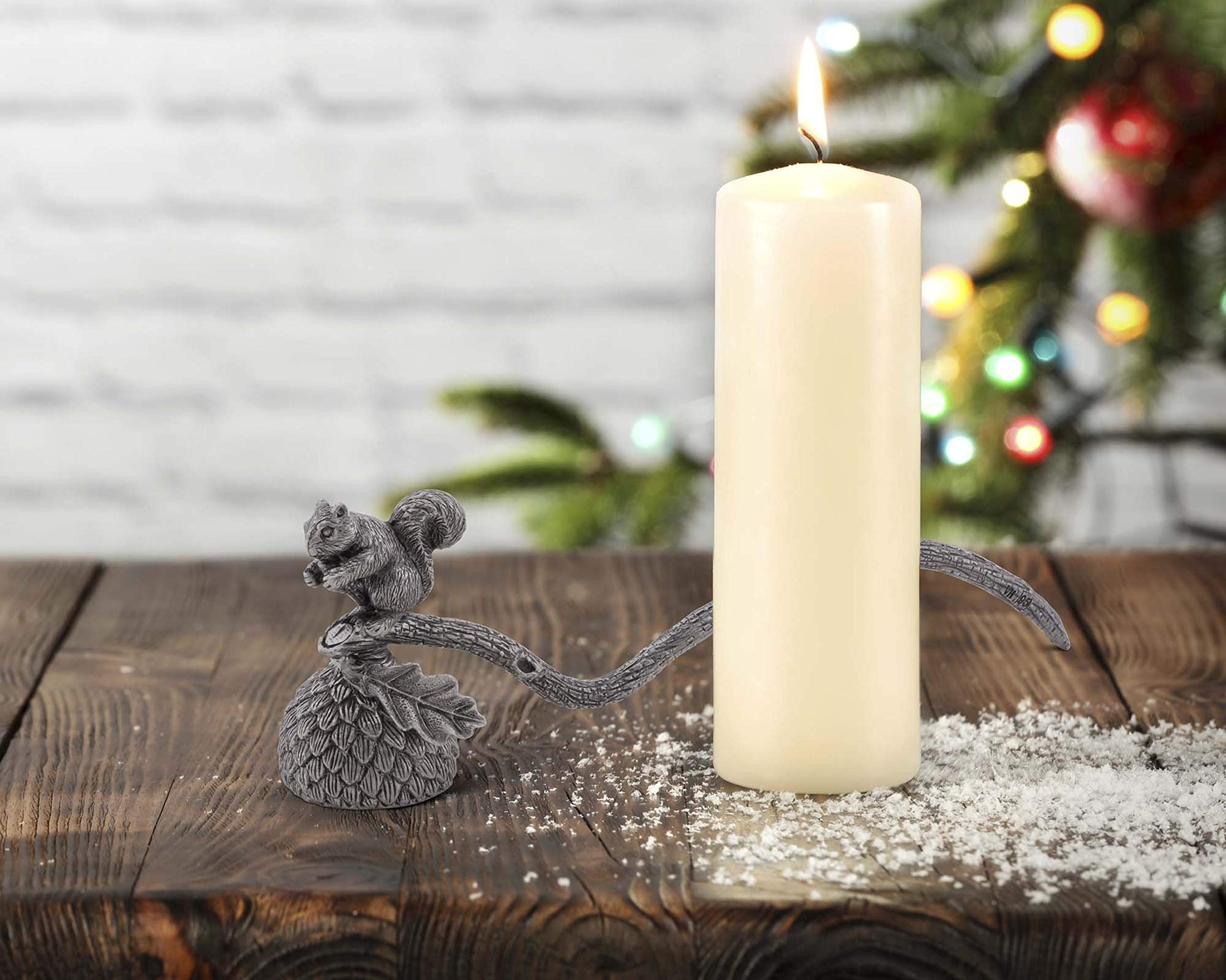 Vagabond House Pewter Squirrel Candle Snuffer 10'' Long by Vagabond House (Image #4)