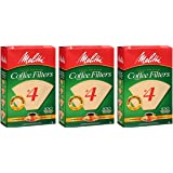 Melitta Cone Coffee Filters Natural Brown #4 100 count (3)